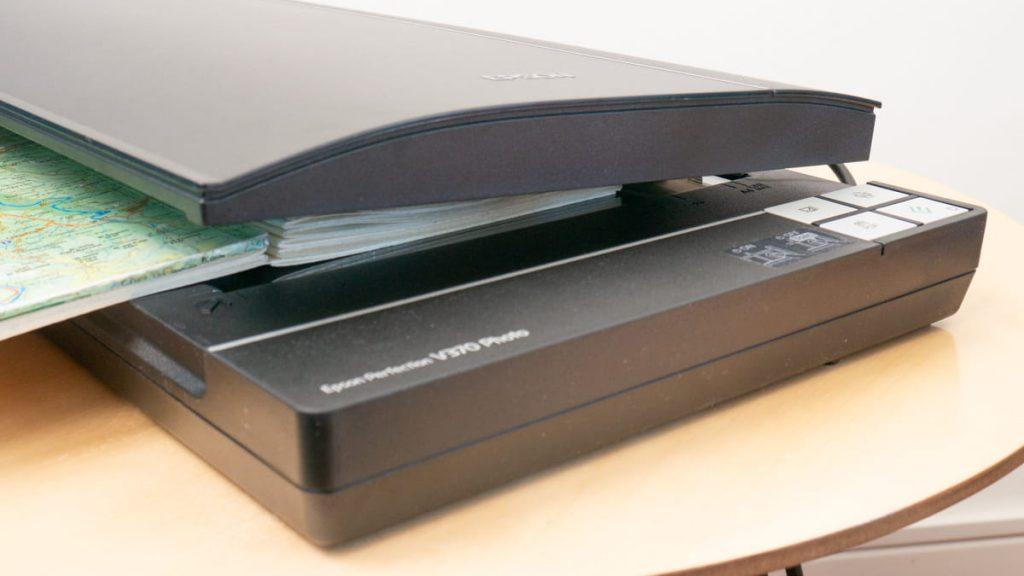 epson perfection V370 photo, scanner per disegni e acquerelli, adatto per sketchbook e libri