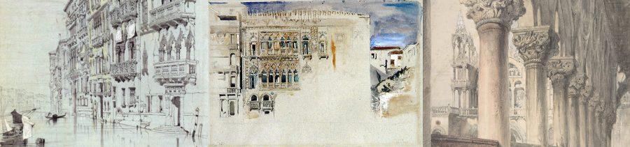 acquerelli di john ruskin a venezia